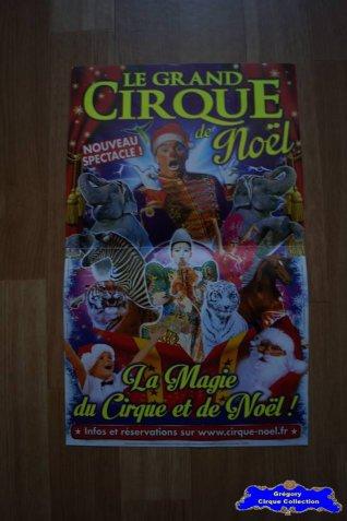 Affiche magasin du Cirque de Noël (Arena Production)-2015 (n°584)