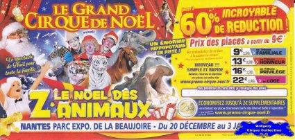 Flyer Le Noël des Z'Animaux-2015/2016 (n°1256)