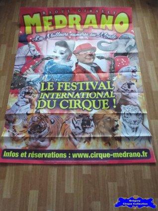 Affiche murale du Cirque Médrano-2015 (n°575)