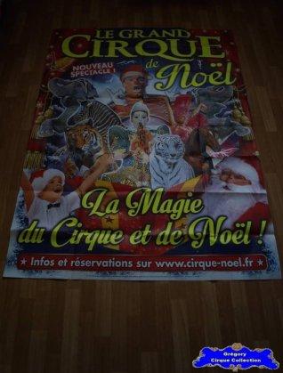 Affiche murale du Cirque de Noël (Arena Production)-2015 (n°582)