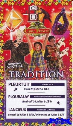 Flyer du Cirque Français (Cirque Français) (n°1291)