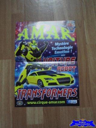 Affiche magasin du Cirque Amar-2015 (n°632)