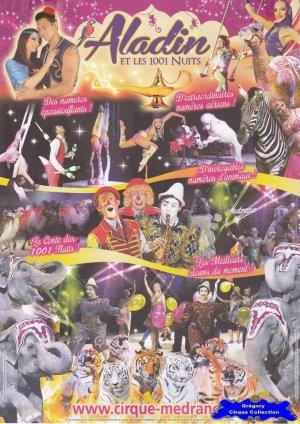 Feuille a4 du Cirque Médrano-2016