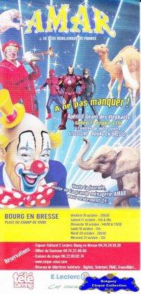 Flyer du Cirque Amar-2015 (n°1285)