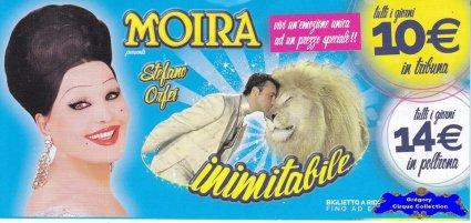 Flyer du Cirque Orfei (Moira)-2015 (n°1315)
