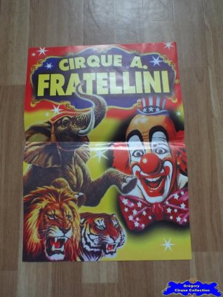 Affiche magasin du Cirque Fratellini (Alain) (n°630)