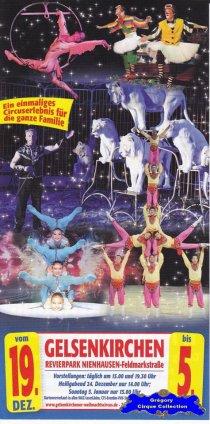 Flyer du Cirque de Noël (Gelsenkirchener Weihnachtscircus)-2013/2014 (n°1340)