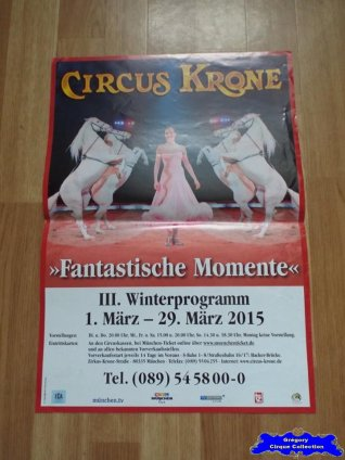Affiche magasin du Circus Krone-2015 (n°648)