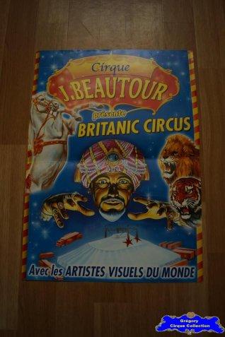 Affiche magasin du Cirque Beautour (Jacky) (n°618)