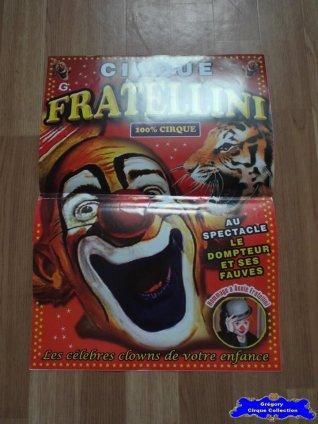 Affiche magasin du Cirque Fratellini (Gilles) (n°628)