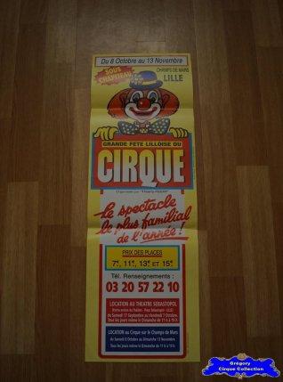 Affiche magasin de La Grande Fête Lilloise du Cirque-2005 (n°617)