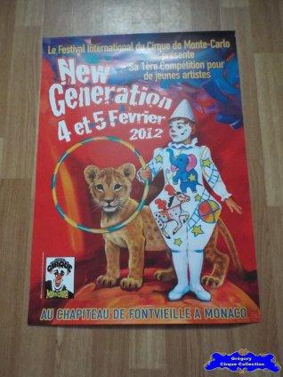 Affiche magasin du Festival New Generation-2012 (n°607)