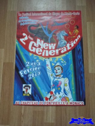 Affiche magasin du Festival New Generation-2013 (n°608)