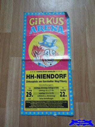 Affiche magasin du Cirkus Arena (n°655)