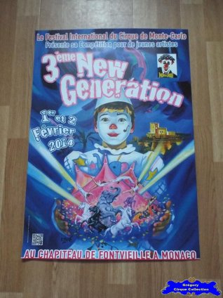 Affiche magasin du Festival New Generation-2014 (n°609)