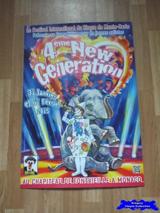 Affiche magasin du Festival New Generation-2015 (n°610)