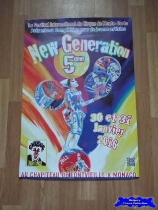 Affiche magasin du Festival New Generation-2016 (n°611)