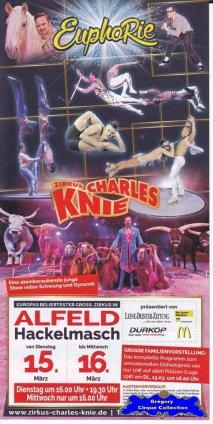 Flyer du Cirque Knie (Charles)-2016 (n°1324)