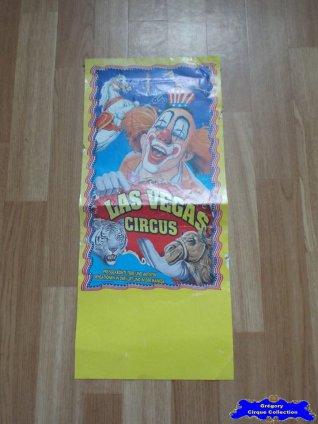 Affiche magasin du Las Vegas Circus (n°636)