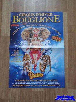 Affiche magasin du Cirque Bouglione (Cirque d'Hiver On Tour)-2015/2016 (n°612)