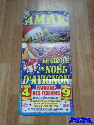 Affiche magasin du Cirque Amar-2015 (n°623)