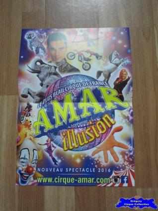 Affiche magasin du Cirque Amar-2016 (n°633)