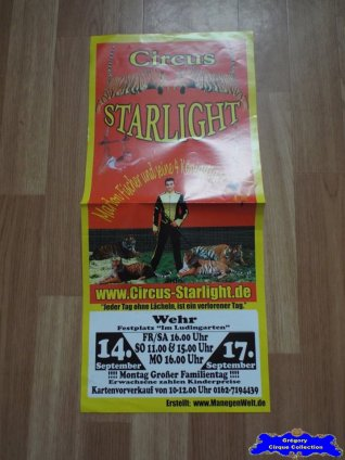 Affiche magasin du Circus Starlight (n°651)