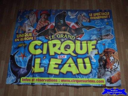 Affiche murale du Grand Cirque sur l'Eau-2014 (n°593)