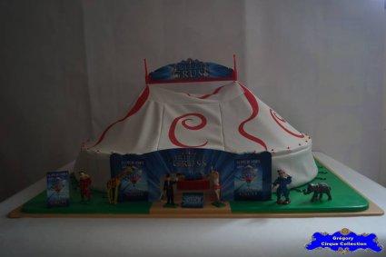 Chapiteau du Cirque Gruss (Arlette)