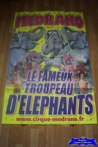 Affiche murale du Cirque Médrano-2012 (n°682)