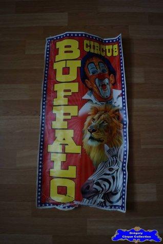 Affiche carton du Buffalo Circus-2016 (n°665)