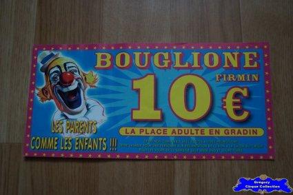 Bon de réduction du Cirque Bouglione (Firmin)