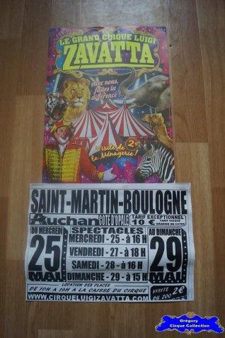 Affiche magasin du Cirque Zavatta (Luigi)-2016 (n°687)