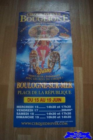 Affiche magasin du Cirque Bouglione (Cirque d'Hiver On Tour)-2016 (n°680)