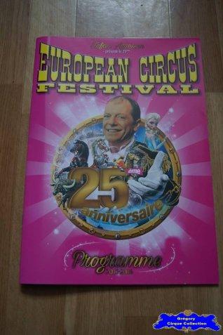 Programme de l'European Circus Festival-2015/2016 (n°120)