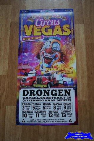 Affiche magasin du Circus Vegas-2016 (n°670)