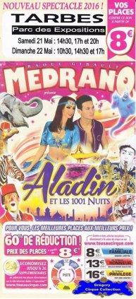 Flyer du Cirque Médrano-2016 (n°1398)