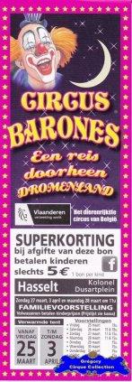 Flyer du Circus Barones-2016 (n°1360)