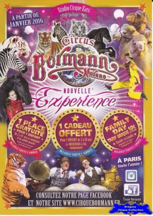 Flyer du Cirque Moreno Bormann-2016 (n°1393)