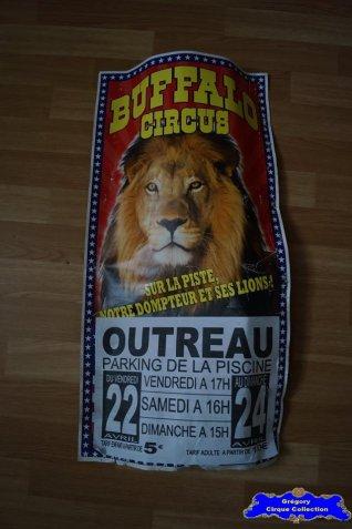 Affiche carton du Buffalo Circus-2016 (n°664)