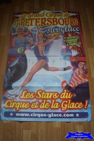 Affiche murale du Grand Cirque de Saint Pétersbourg sur Glace-2012 (n°684)