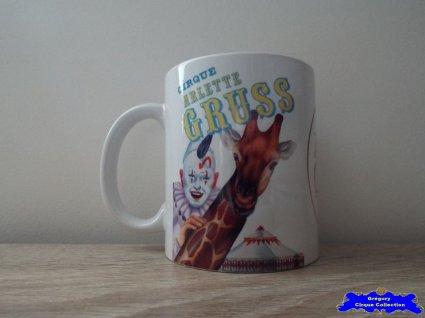 Mug du Cirque Gruss (Arlette)-1995
