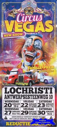 Flyer du Circus Vegas-2016 (n°1368)
