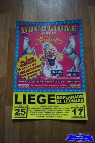 Affiche magasin du Cirque Bouglione (Firmin)-2016 (n°675)
