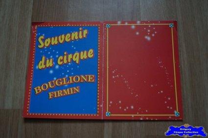 Carte du Cirque Bouglione (Firmin)