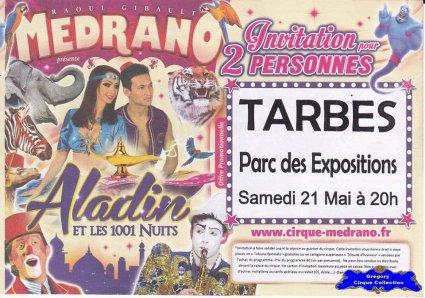 Flyer du Cirque Médrano-2016 (n°1397)