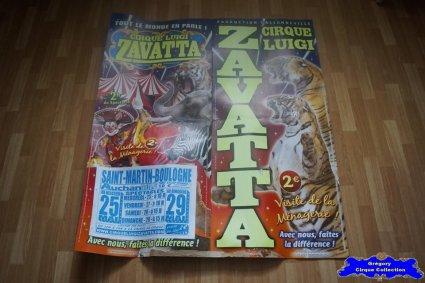 Affiche carton du Cirque Zavatta (Luigi)-2016 (n°688)
