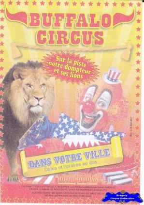 Flyer du Buffalo Circus-2016 (n°1386)