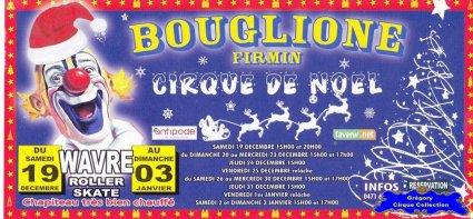 Flyer du Cirque Bouglione (Firmin)-2015/2016 (n°1381)