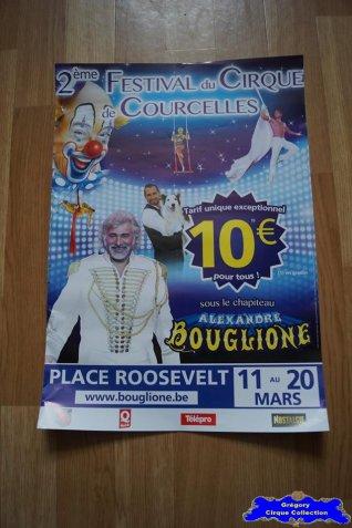Affiche magasin du Cirque Bouglione (Alexandre)-2016 (n°678)